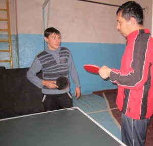Змагання з настільного тенісу у ДНЗ «Мелітопольський професійний ліцей залізничного транспорту»