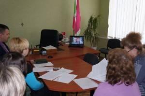 Відеоконференція творчих груп м. Києва та м. Запоріжжя 25.03.2015