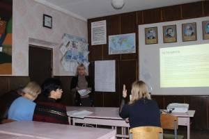 Засідання методичної комісії викладачів гуманітарного циклу в ДНЗ «Токмацький професійний ліцей»